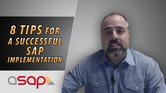 8 Tips for a Successful SAP Implementation and/or Project